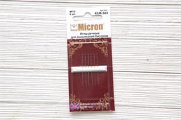 Иглы для вышивки Micron №10
