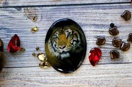 Кабошон, Тигр