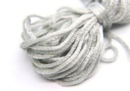 Французская синель Platinum Grey 615, 3 мм