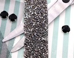 Кристальная лента Black, 50*30 мм