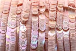 Пайетки радужный фарфор 5009, 4 мм