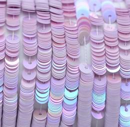 Пайетки радужный фарфор 5019, 4 мм