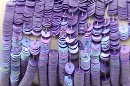 Пайетки радужный фарфор 5026, 4 мм
