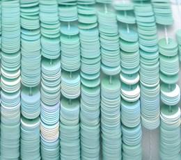 Пайетки радужный фарфор 5044, 4 мм