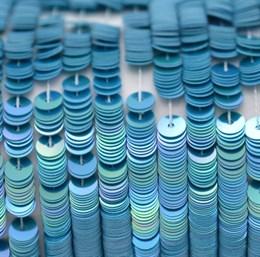 Пайетки радужный фарфор 5137, 4 мм