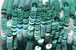 Пайетки радужный фарфор 5177, 4 мм