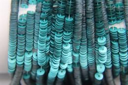 Пайетки матовый металлик 10040, 4 мм