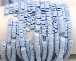 Пайетки фарфоровые 6029, 4 мм