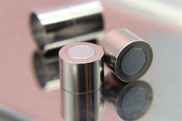 Магнитный концевик 12 мм, Silver