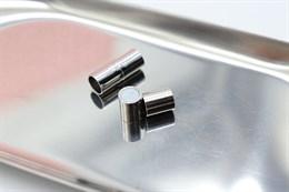 Магнитный концевик 7 мм, Silver