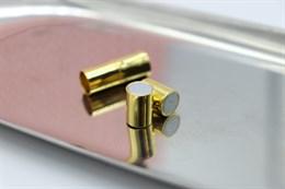 Магнитный концевик 7 мм, Gold