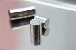 Магнитный концевик 8 мм, Silver