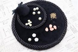 Палетка для бисера 18,5 см, Черный янтарь