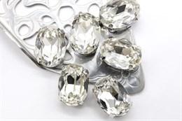 #4120 Oval 14*10 мм Crystal