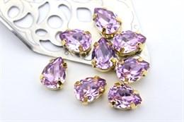 #4320 Drop 10*7 мм Violet