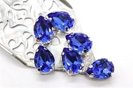 #4320 Drop 14*10 мм Sapphire