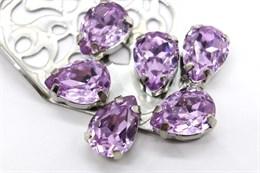 #4320 Drop 14*10 мм Violet