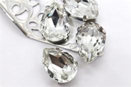 #4320 Drop 18*13 мм Crystal