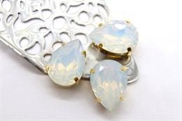 #4320 Drop 18*13 мм Water Opal