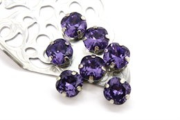 #4470 Cushion 8 мм Purple Velvet