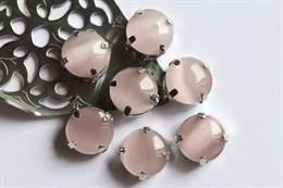 Шелковый кристалл 12 мм, Бледный Кизил