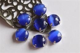 Шелковый кристалл 12 мм, Синяя Мантия