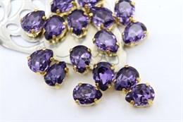 #4320 Drop 8*6 мм Purple Violet