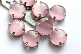 Шелковый кристалл 12 мм, Розовая пудра