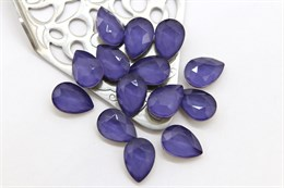 #4320 Drop 10*7 мм Mokko Purple