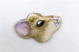 Кабошон мышка Жульен