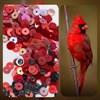"""Микс фр. пайеток, """"Красный кардинал"""" - фото 4971"""