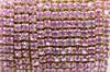 Стразовая цепочка 2 мм, 06G - фото 5428