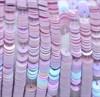 Пайетки радужный фарфор 5019, 4 мм - фото 5946