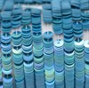Пайетки радужный фарфор 5137, 4 мм - фото 5979