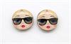 Парные лица матрешек для серег, Катя - фото 6317
